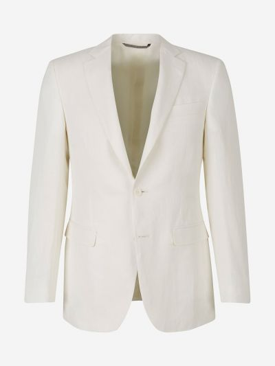 Linen and Silk Blazer