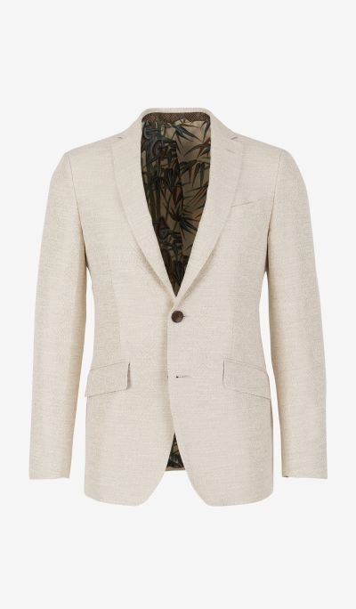 Jacket With Two Buttons