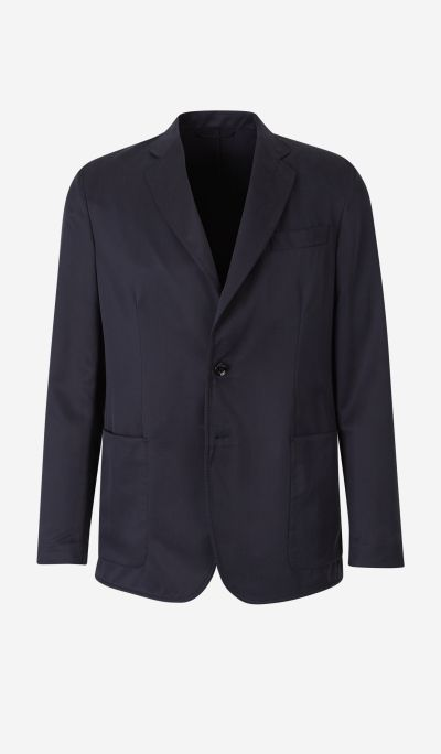 Straight Silk Blazer