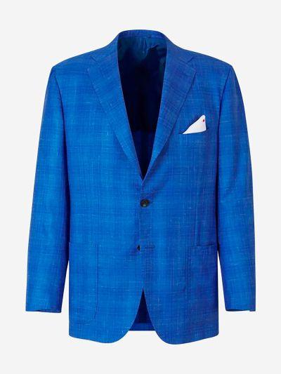Cashmere Silk Blazer
