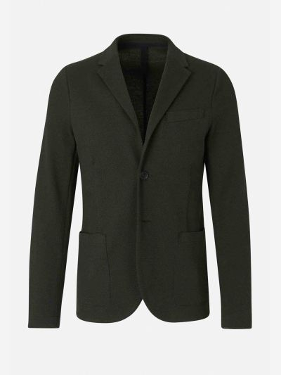 Straight Knit Blazer