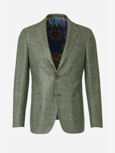 Silk and Wool blazer