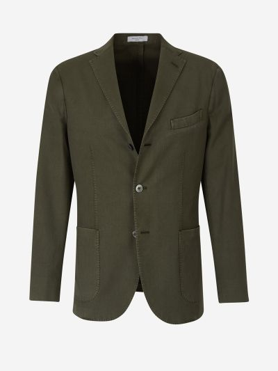 Straight Wool Blazer