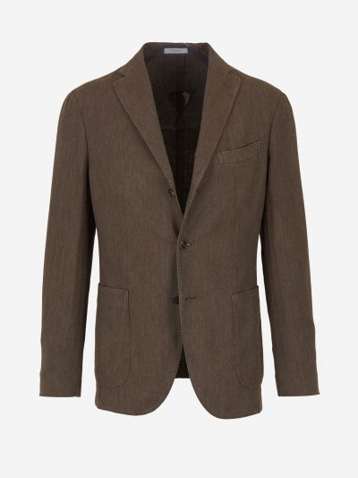 Straight-cut blazer