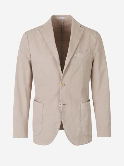 Straight Cotton Blazer