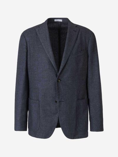 Cashmere Knit Blazer