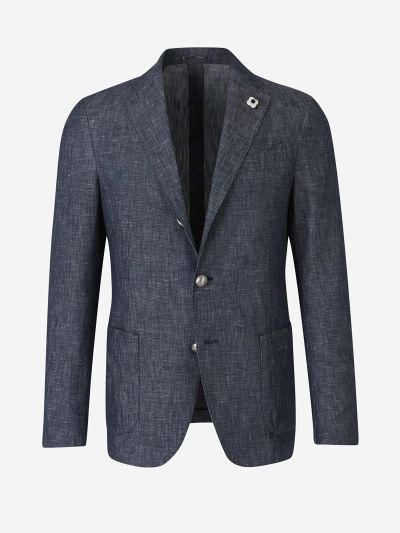 Straight Denim Blazer