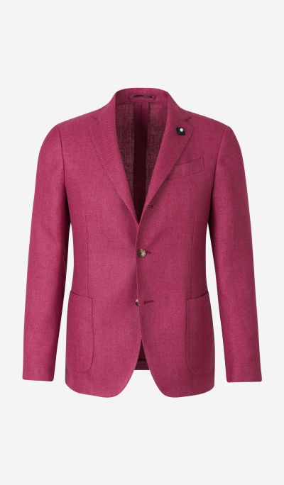 Linen and Wool Blazer