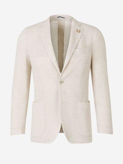 Linen Cashmere Blazer