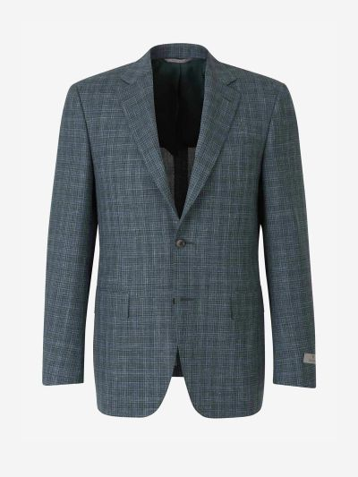 Wool, Silk and Linen Blazer