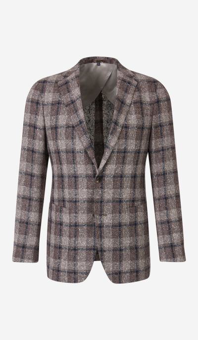 Linen Check Blazer
