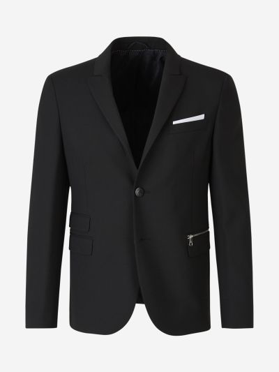 Zip Pocket Blazer