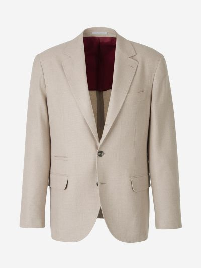 Cashmere And Silk Blazer