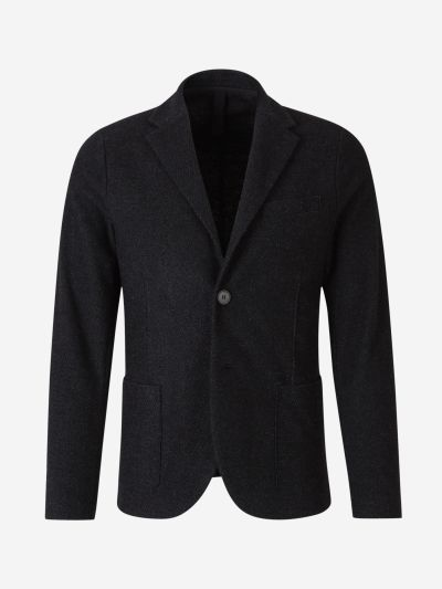 Wool Knit Blazer