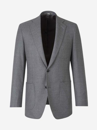 Texture Wool Blazer