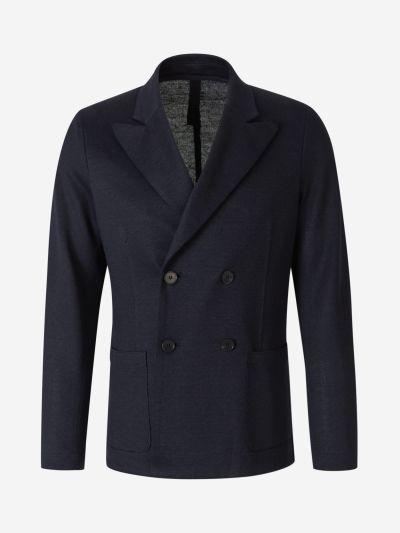 Linen Knit blazer