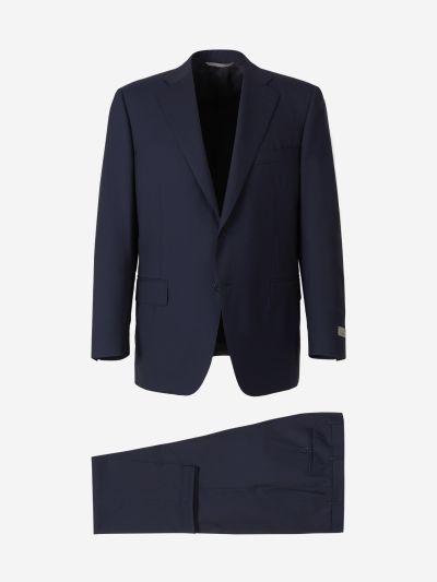 Wool Travel Suit