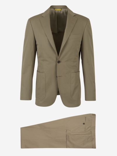 Two-button Straight Suit
