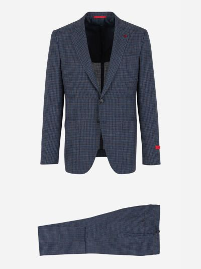 Gregory Checkered Suit
