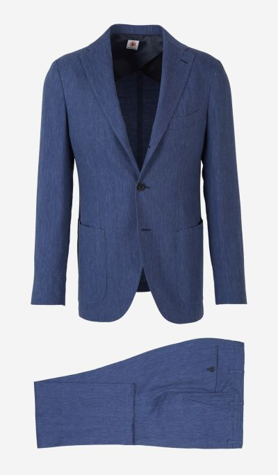 Deconstructed Linen And Wool Suit