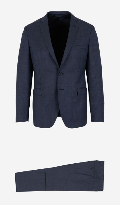 Wool Suit With Two Buttons
