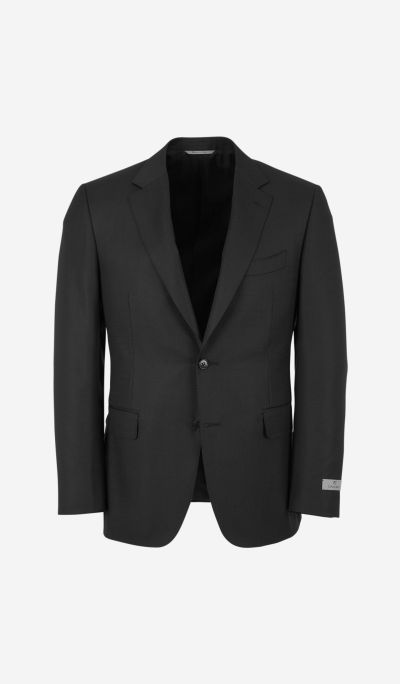 Contemporary check suit