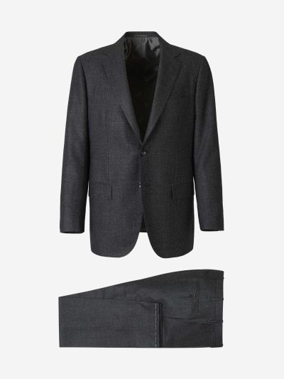 Cashmere Silk Suit