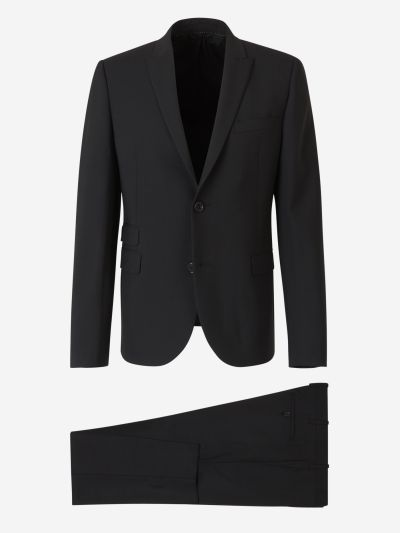 Fitted Slim Suit