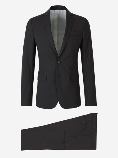 Slim Virgin Wool Suit
