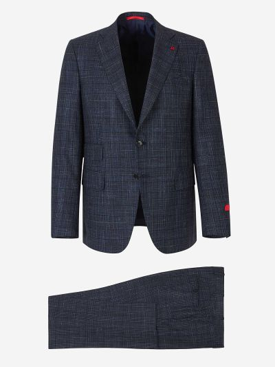 """Gregory"" suit in silk wool"