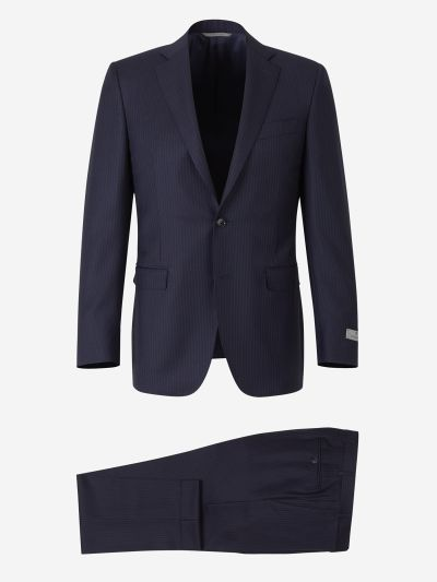 Suit with pinstripe