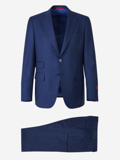 Diplomatic Stripe Suit