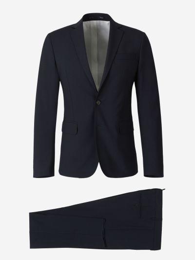 Virgin Wool Slim Suit