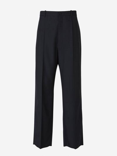 Wool Twill Trousers