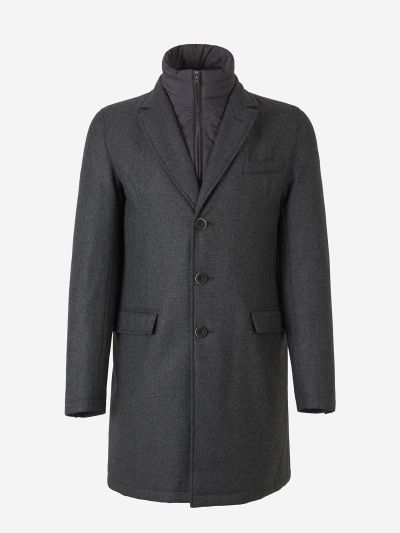 Padded Vest Coat