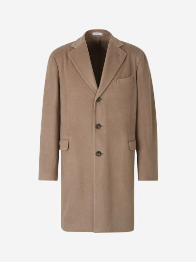 Cashmere Straight Coat