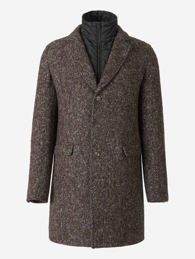 Herringbone Design Coat