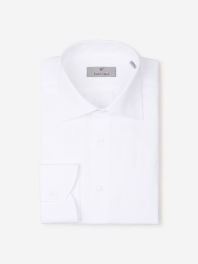 Smooth cotton shirt
