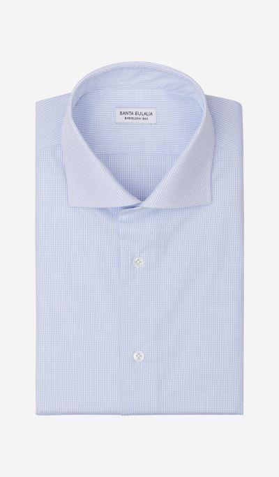 Cotton checkered shirt