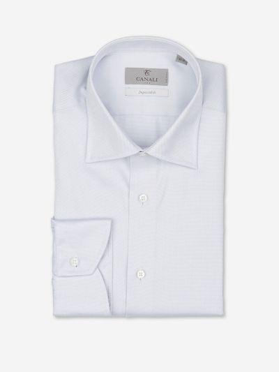 Camisa Algodón Microdibujo