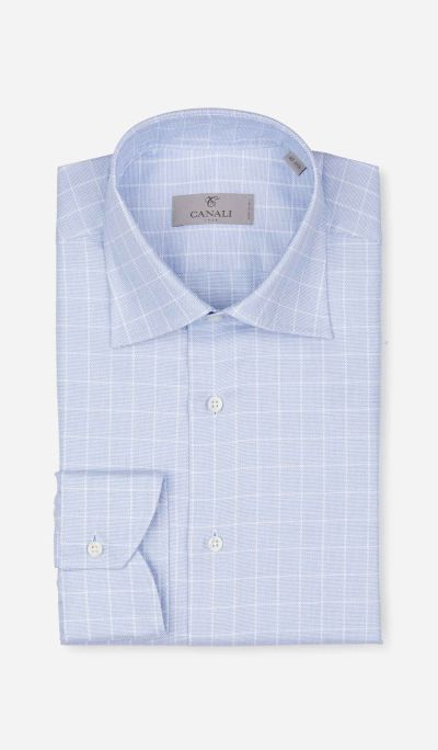 Pinpoint checkered shirt