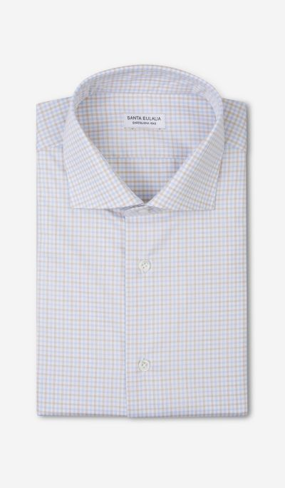 Formal Checked Shirt