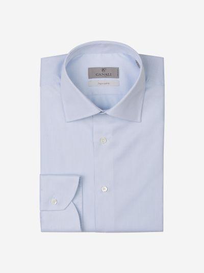 Micro Herringbone Shirt