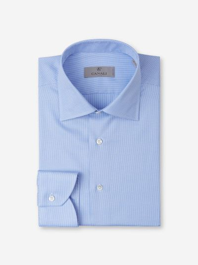 Micro Houndstooth Shirt