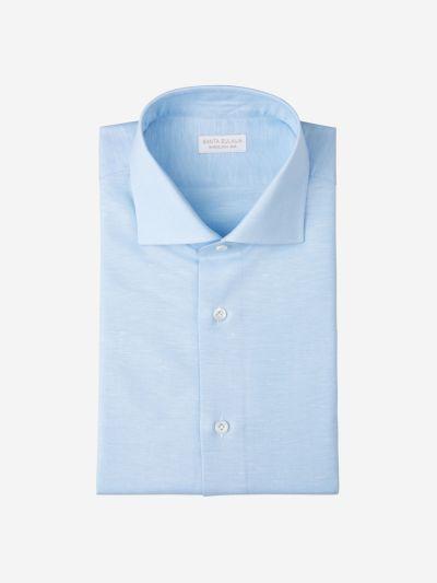 Cotton Linen Piqué Shirt