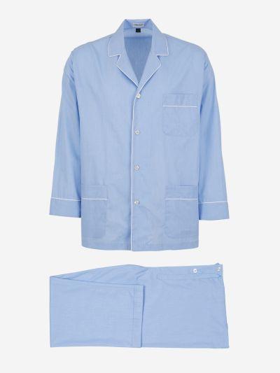Pyjamas with edging