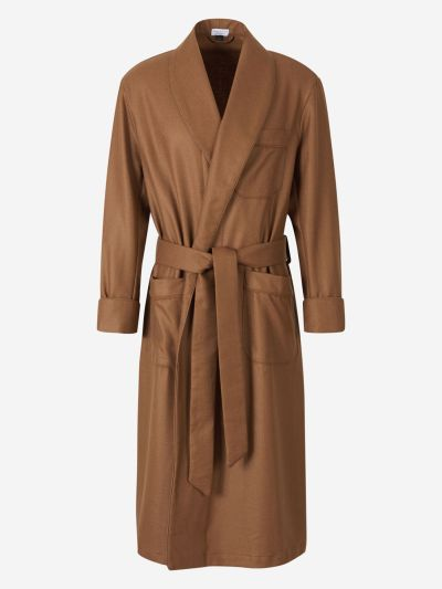 Cashmere Wool Dressing Gown