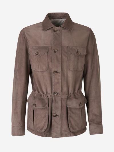 Suede Sahara Jacket