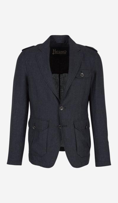 Linen Saharian jacket