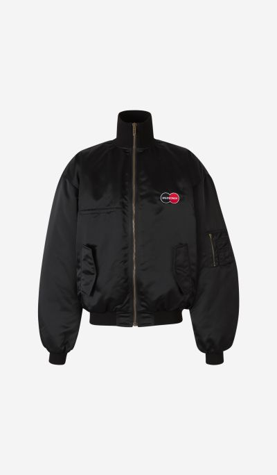 Uniform Logo Bomber Jacket
